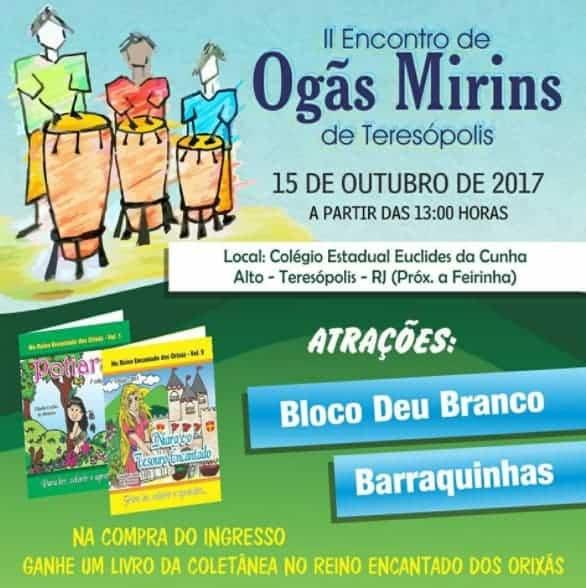 Festival de Ogãs Mirins em Teresópolis auxilia projeto de livros infantis 1