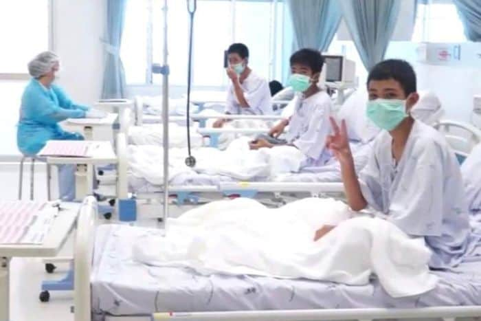Meninos da Tailândia meditaram para sobreviver na caverna 1