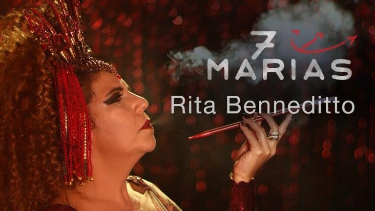 Rita Benneditto festeja data com single de '7 Marias'