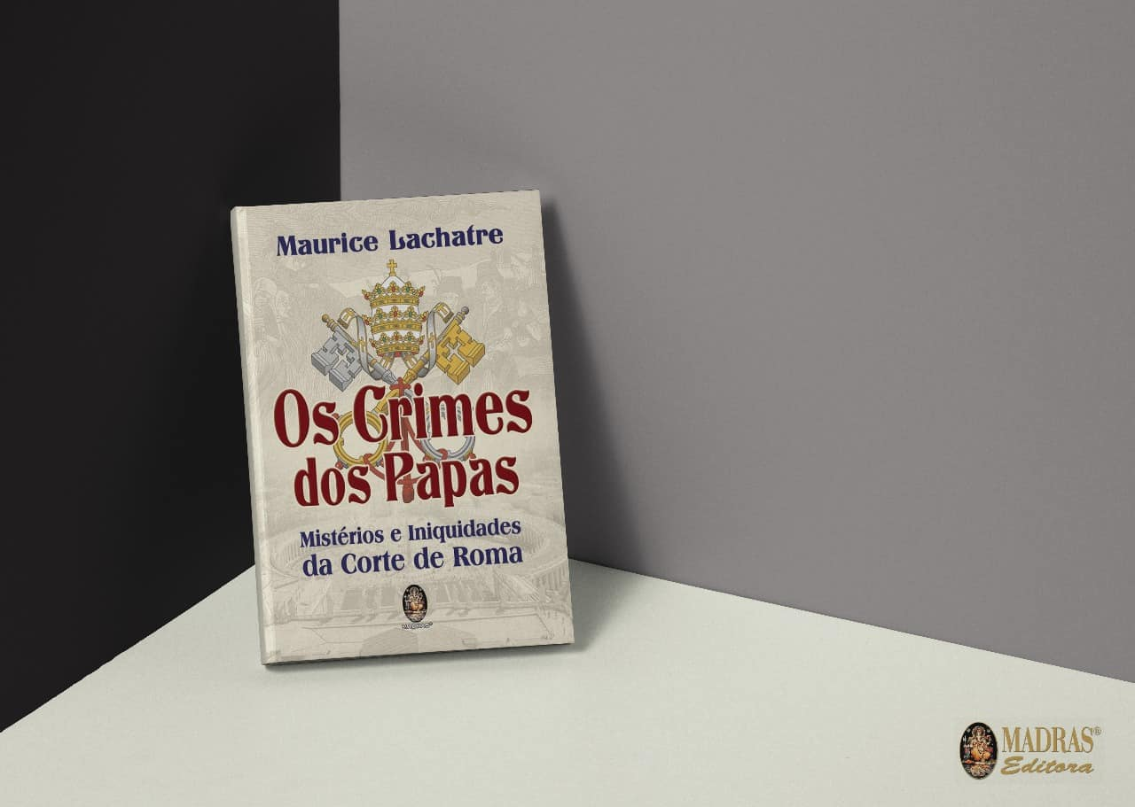 Os Crimes dos Papas - Editora Madras 1