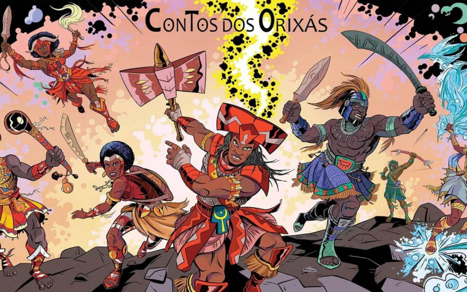 Contos dos Orixás cria HQs com heróis negros 1