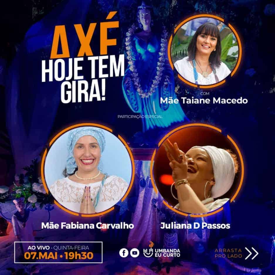 HOJE TEM GIRA recebe Fabiana Carvalho e Juliana D' Passos 3
