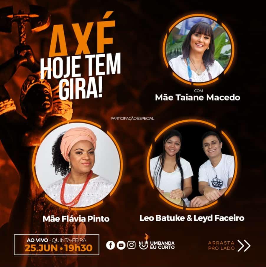 HOJE TEM GIRA recebe Flávia Pinto, Léo Batuke & Leyd Faceiro 2