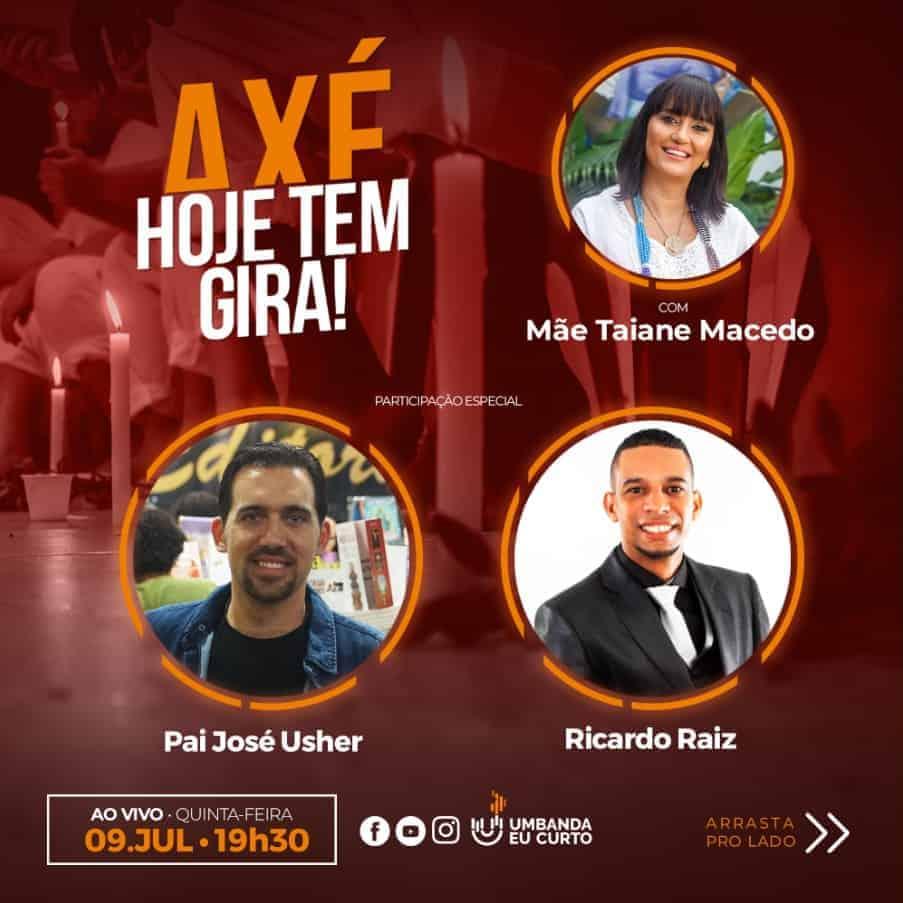 HOJE TEM GIRA recebe José Usher e Ricardo Raiz 1
