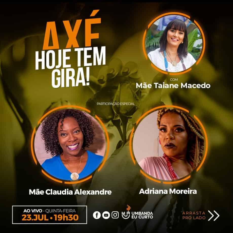 HOJE TEM GIRA recebe Claudia Alexandre e Adriana Moreira 1