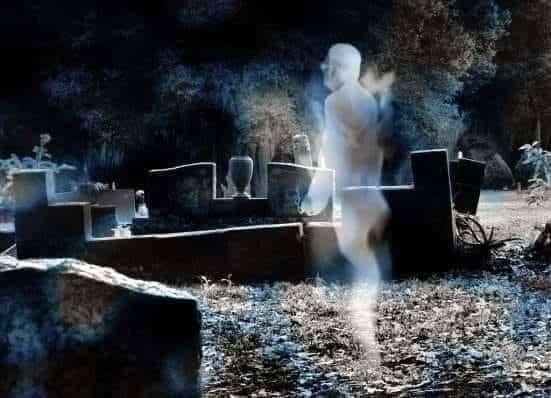 Espírito perdido que fica vagando na Terra 1