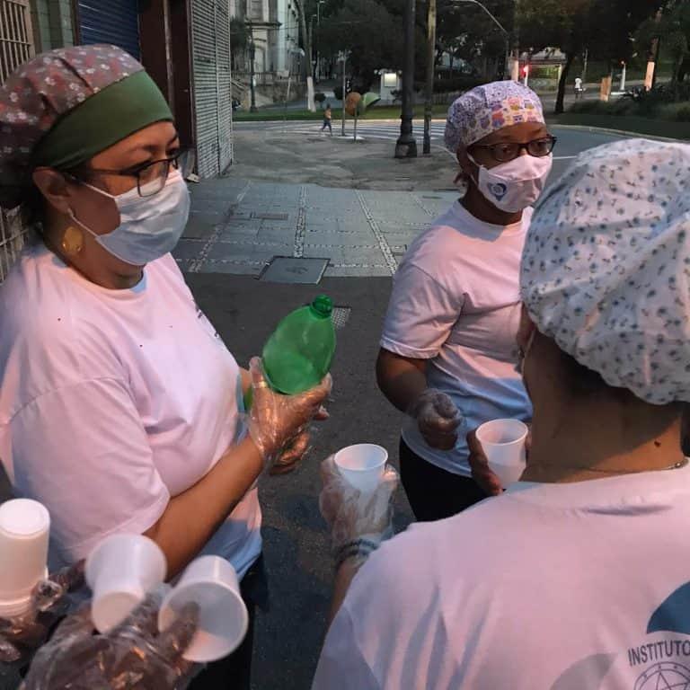 Instituto CEU Estrela Guia realiza ação social na pandemia 1