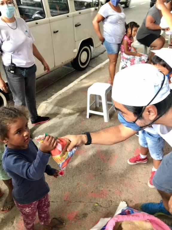 Instituto CEU Estrela Guia realiza ação social na pandemia 3