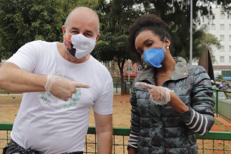 Guerreiros da Jurema distribui alimentos e refeições há um ano em SP 1