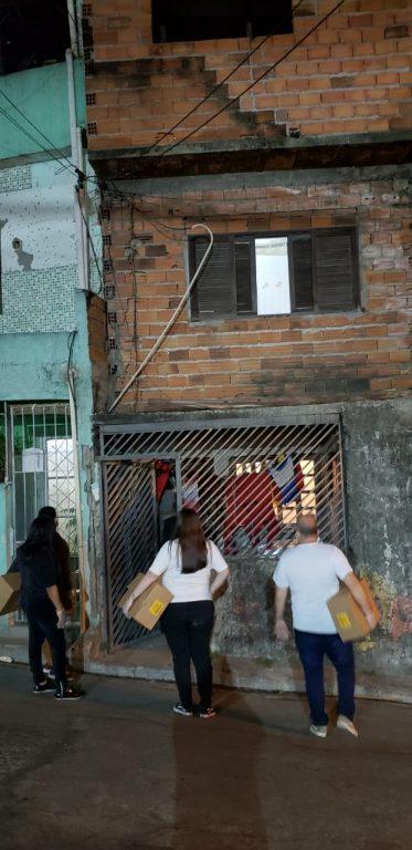 Guerreiros da Jurema distribui alimentos e refeições há um ano em SP 2